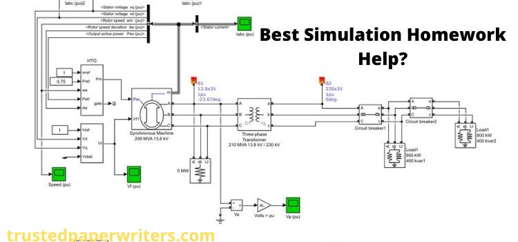 Simulation Assignment Help Online website