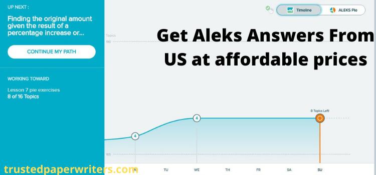 cheap online ALEKS answers website