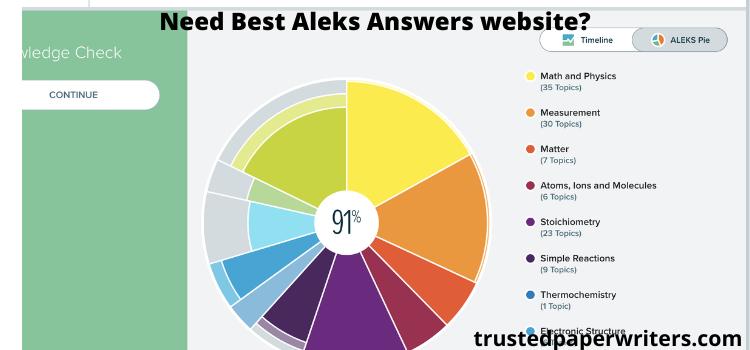 best online ALEKS answers service