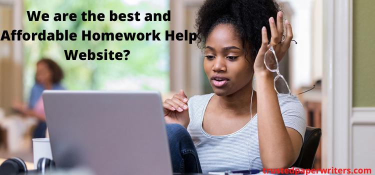 cheap online homework help website
