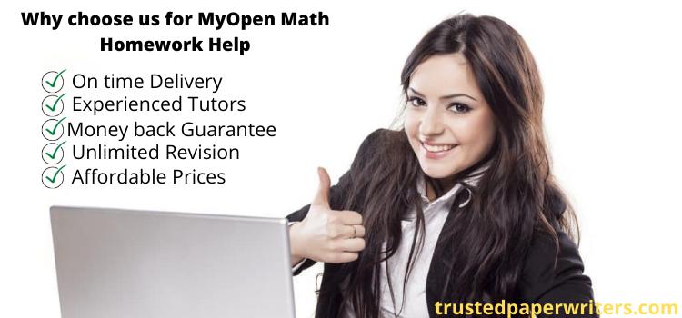online MyOpenMath Homework Answers website