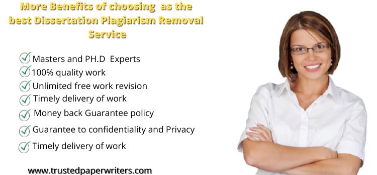 Dissertation Plagiarism Removal Service