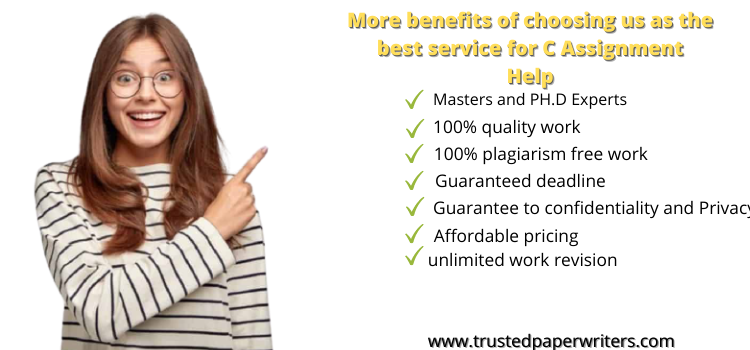 Best service for C Assignment Help
