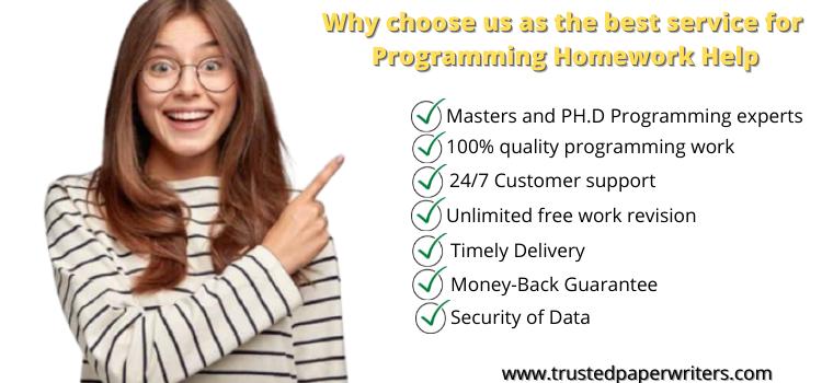 Best service for Programming Homework help