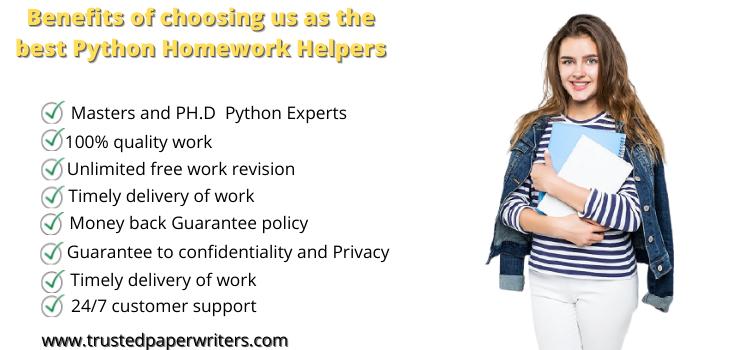 Best service for Python Homework help