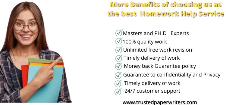 Best homework assingment help service