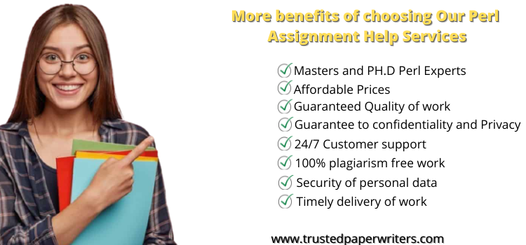 Best service for Perl Assignment Help