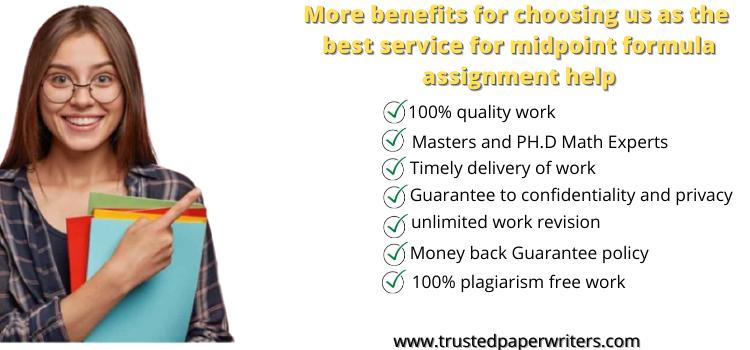 Best service Midpoint Formula Assignment Help